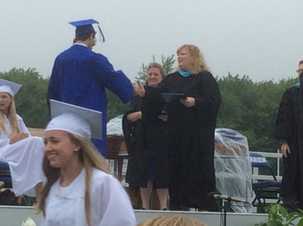 Diplomas handed out Graduation DHS 06-17-17