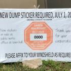 Dump Sticker Renewal 06-24-17