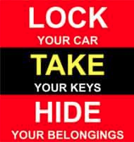 Lock Your Car Take Your Keys Hide Your Belongings Norwalk Police Posted on Facebook 06-25-17