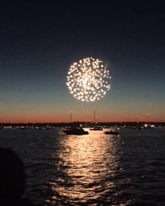 Fireworks Maritime Aquarium cruises 06-27-17