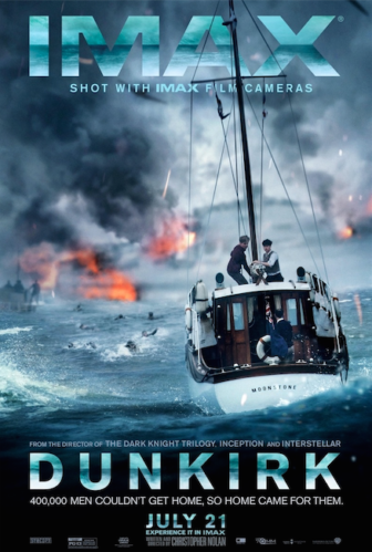 Dunkirk IMAX movie poster 07-02-17