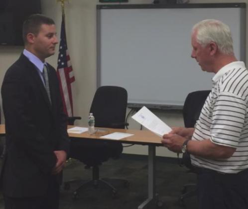 Burr Allen BJ Allen officer sworn 07-07-17