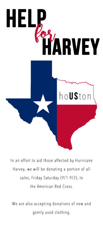 Hurricane Harvey relief Darien Sport Shop 08-31-17