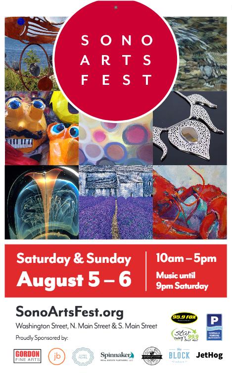 SoNo Arts Festival 2017 poster