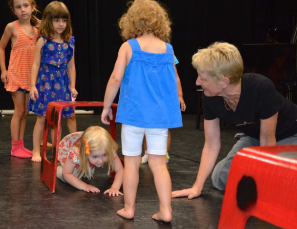 Kids Theatre Heather Kahlert and kids 2016 08-07-17