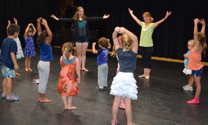 DAC open house dance mini class 08-07-17