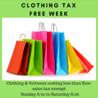 Tax Free Week 2017 DRS on Facebook