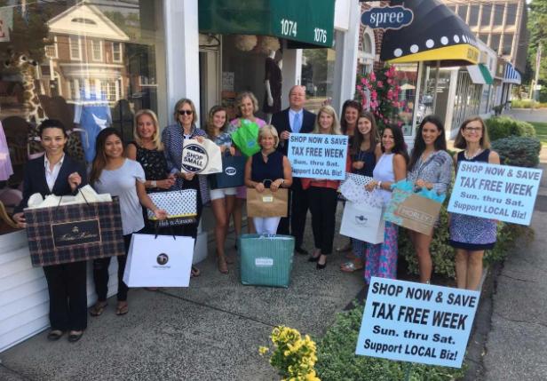 Chamber tax free shopping week 08-10-17