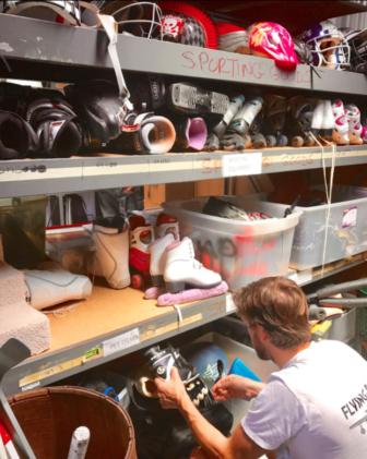 sports stuff in Swap Shop 08-18-17