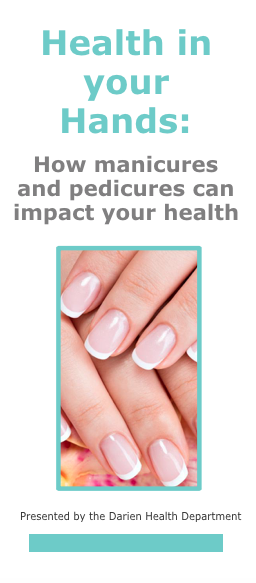 Cover nail salon safety brochure Darien 08-21-17