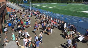 Darien High School Club and Activities Fair 09-19-17