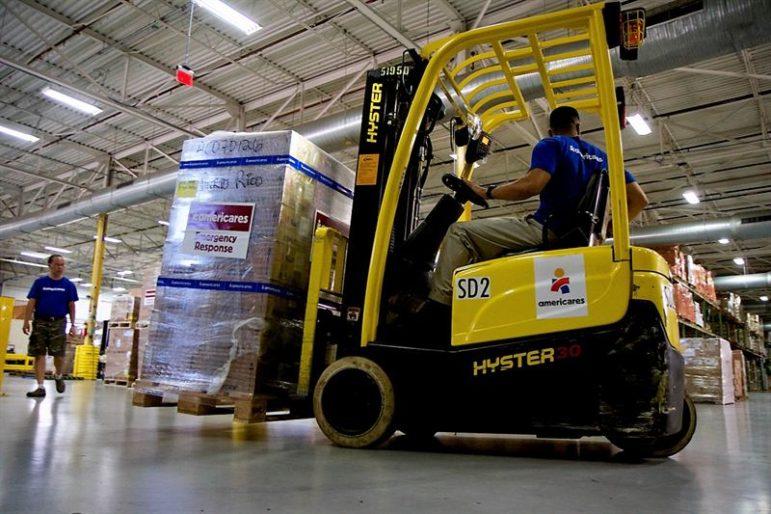 Americares shipment Puerto Rico 09-29-17