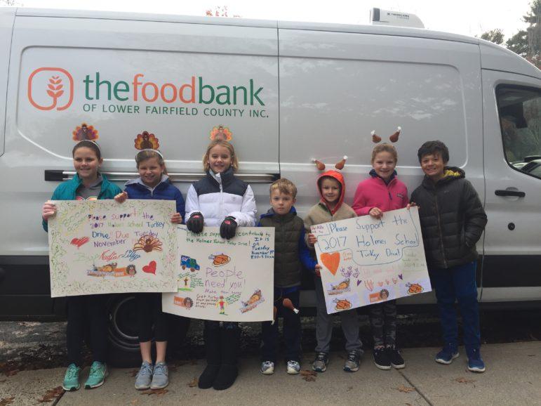 Holmes School Food Bank 11-19-17