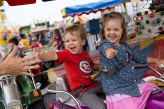 Kids Rides at Norwalk Oyster Festival 09-08-17