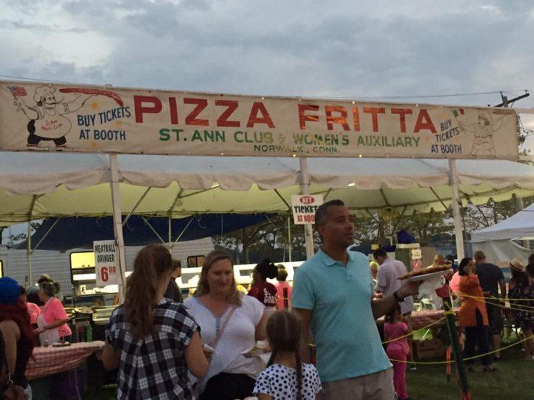 St Ann Club Pizza Frita machine 09-08-17