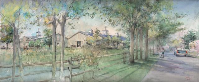 Ox Ridge Hunt Club rendering proposal 09-29-17