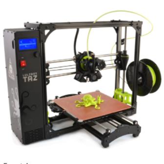 3D machine at Darien Library 09-02-17