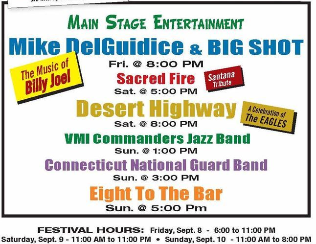 Music Acts Oyster Festival 09-07-17