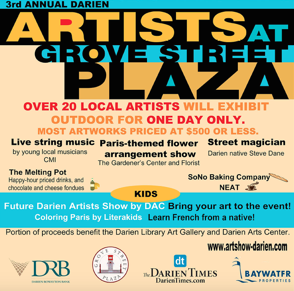 Artists at Grove St Plaza poster 09-10-17