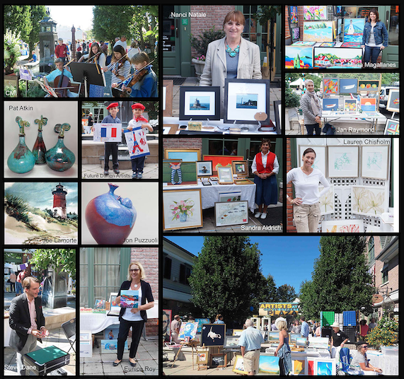 Pictures artists at grove st plaza 09-10-17