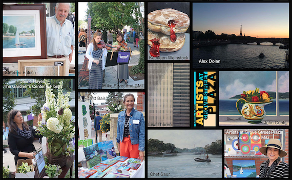 Artists at Grove St Plaza event pictures past years 09-10-17