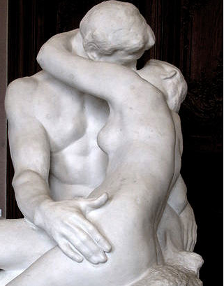The Kiss by Auguste Rodin no copyright 09-10-17