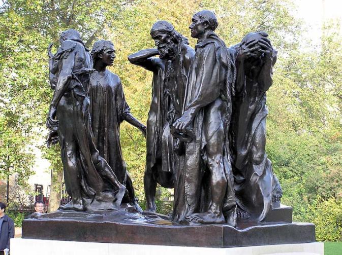 Burghers Calais Rodin