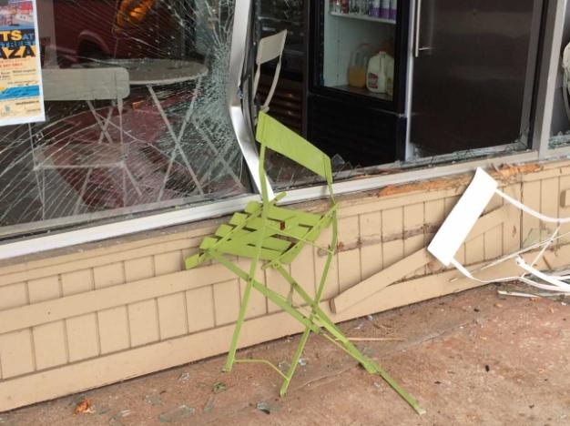 Chairs crash Embody 09-21-17
