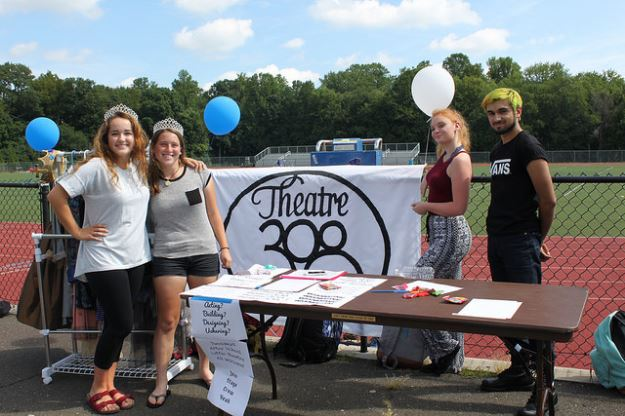 Theatre 308 DHS Club and Activities Fair 09-19-17