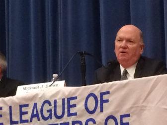 Michael Burke Board of Ed LWV forum 10-26-17