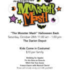 Monster Mash Depot Halloween 10-27-17