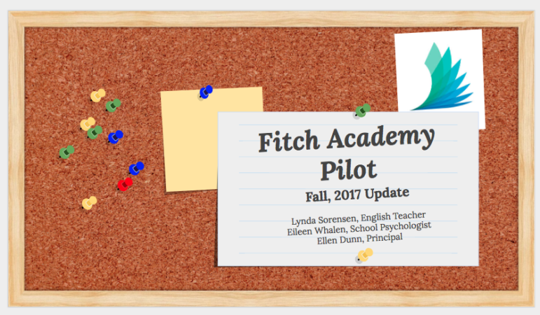 Fitch Academy opening slide
