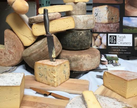 Parish Hill Creamery cheese cheeses 10-21-17