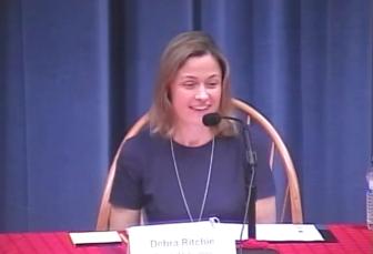 Debra Ritchie Board of Education 10-26-17