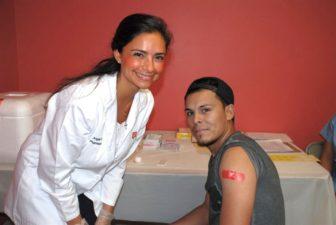 Free Flu Clinic Americares Walgreens 10-03-17