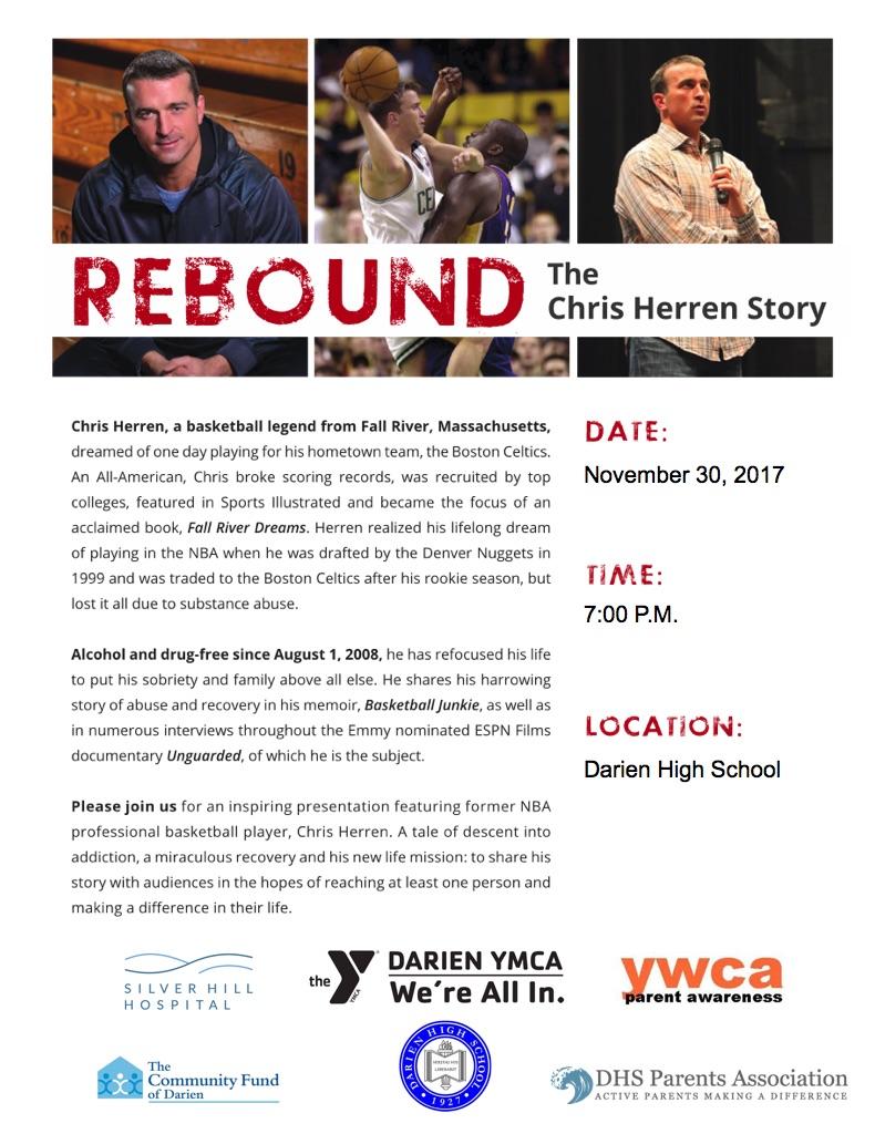 Flyer Chris Herren Basketball Junkie 11-08-17