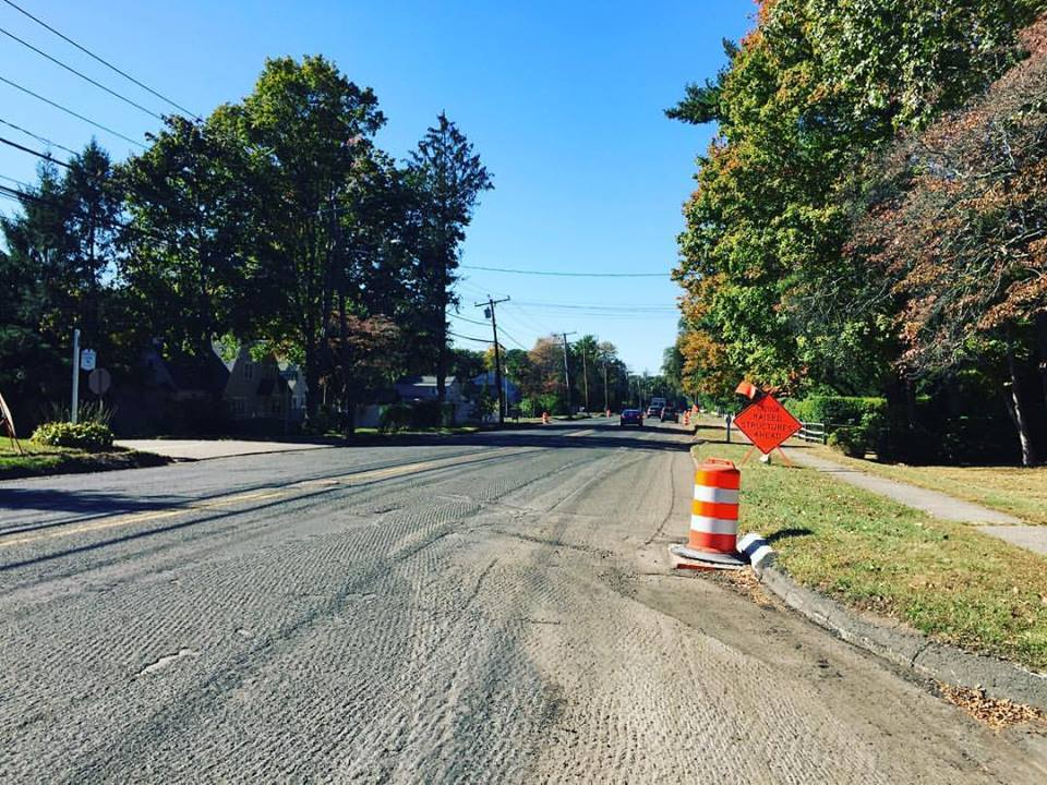 Post Road Paving Repaving 2017