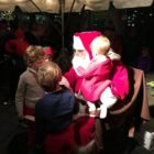 Santa at Grove Street Plaza Holiday Magic