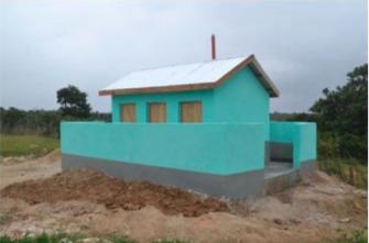 Toilet Block Kilifi Kenya Darien Rotary 11-08-17