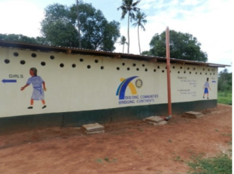 Toilet block Kilifi Darien Rotary 11-08-17