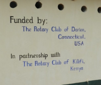 Toilet Block Funded By Rotary