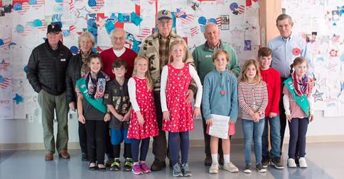 Veterans Tokeneke School 2017