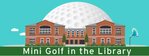 Mini Golf Darien Library 11-17-17