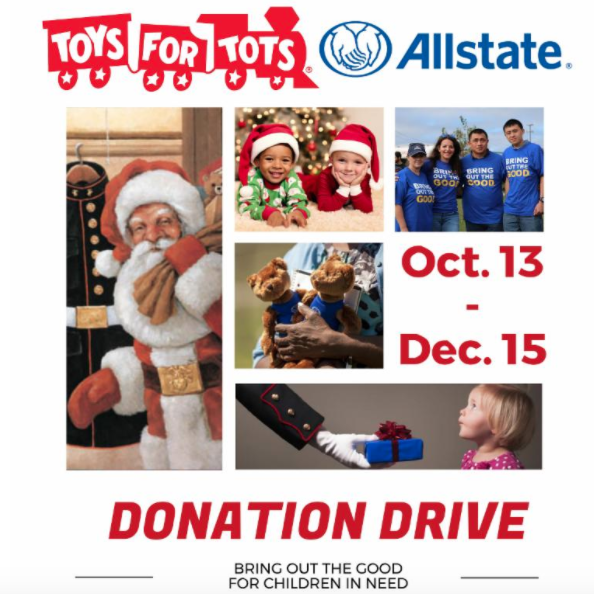 Toys For Tots Family : You can drop off a christmas gift for the toys tots