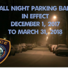 Parking Restriction 11-27-17