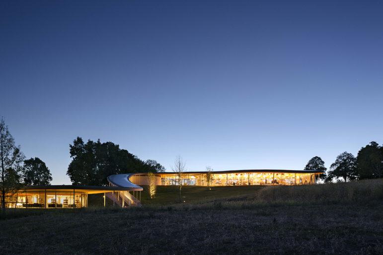 Grace Farms night or dusk 11-15-27