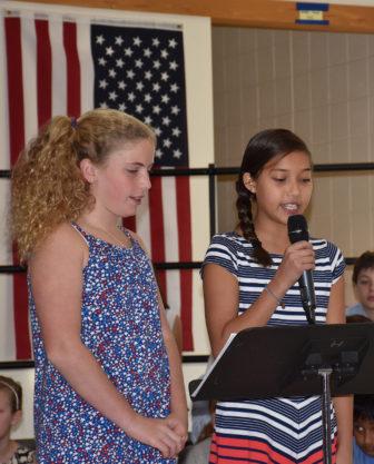 Holmes School Veterans Day Palen Althoff