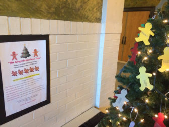 Gingerbread Man Tree Town Department of Human Services Christmas