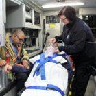 Stamford EMS inside ambulance 12-09-17