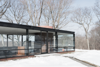 Philip Johnson Glass House New Canaan